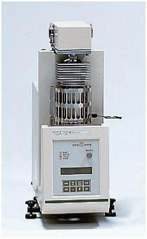 Shimadzu TGA 50 Thermogravimetric Analysis, Mereco R&D